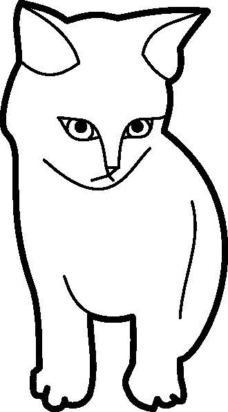 Disegni di gatti pagina 2 for Immagini di gatti da colorare